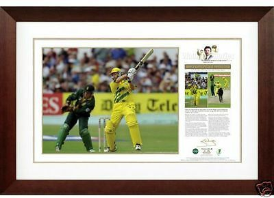 Steve Waugh  One Day At Headingley  Signed Print