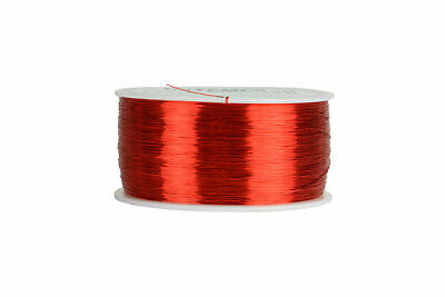 TEMCo Magnet Wire 31 AWG Gauge Enameled Copper 1lb 155C 3950ft Coil Winding