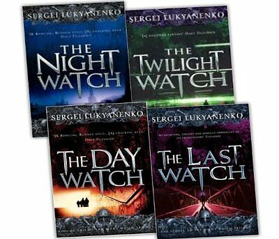 Sergei Lukyanenko Night Watch Trilogy 4 Books Collection Pac | Sergei Lukyanenko