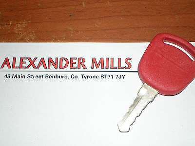 Case IH Tractor GENUINE Ignition Key Case IH MXM MXU PUMA Tractors 82030144