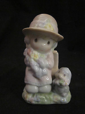 "1997 Precious Moments Figural Salt & Pepper Shakers ""Seasoned With Love"" Enesco"