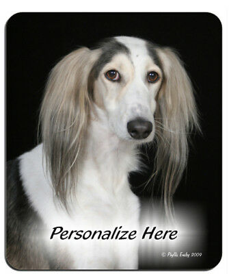 Saluki   ( 6 )    Personalized  MousePad