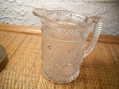 Festoon Pattern Cream Pitcher c1894 EAPG