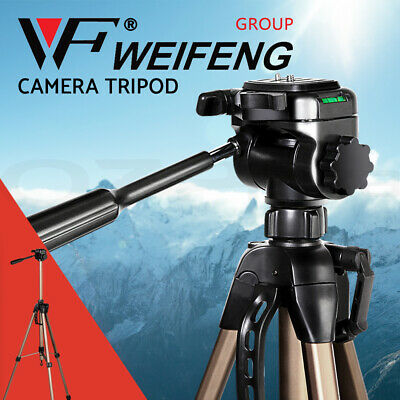 Weifeng Professional Camera Tripod for Digital DSLR Camcorder Video Tilt Monopod