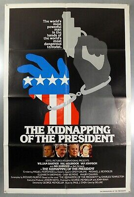 The Kidnapping Of The President -William Shatner- Original Usa 1Sht Movie Poster