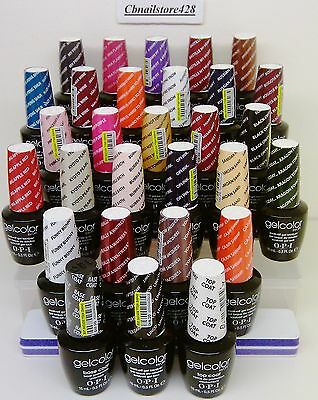 Gelcolor - Soak Off Gel Nail Polish .5oz/15ml opi - Series 1 - Pick any color