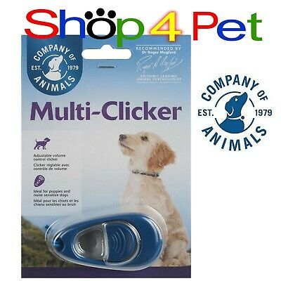 MULTI - CLICKER with VOLUME CONTROL for DOG TRAINING by COMPANY OF ANIMALS