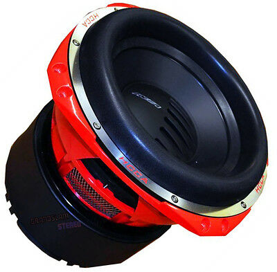 "ORION HCCA-124 Dual 4 Ohm Voice Coil 12"" Subwoofer 4000 Watt Competition HCCA124"