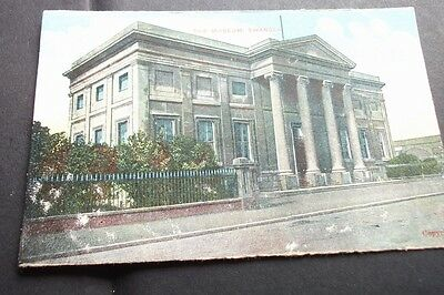 Old Postcard Of The Museum Swansea