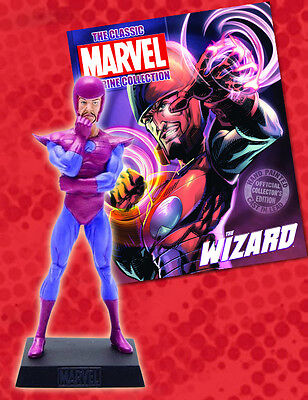 FIGURA DE PLOMO MARVEL FIGURINE COLLECTION 170 WIZARD + REVISTA