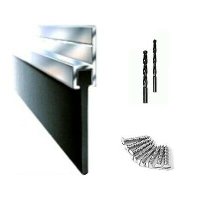 Aluminum Seal Draught Excluder  For The  Bottom Of  Garage Door  Parts