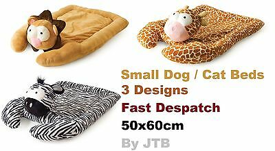 NEW Luxury Plush Soft Warm Ancol Pet Cat Small Dog Bed Mat Cushion Pad Beds JTB