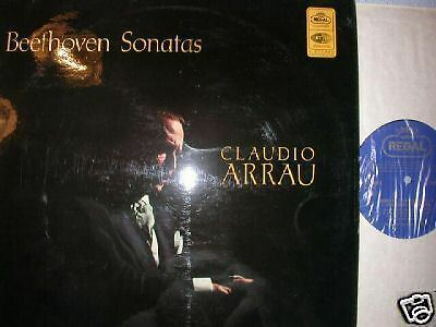 Regal Sreg Beethoven Sonatas Claudio Arrau