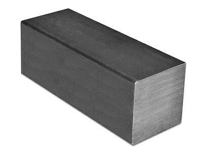 "long Square Bar C1018 Cold Rolled Mild Steel Ships UPS 1 Piece 1-1//2/"" x 1 ft"