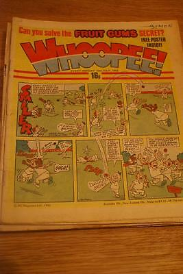 WHOOPEE COMIC  16th Oct 1982