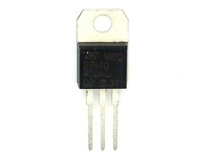1x Triac ST MRC BTA10-400AC ,400V,10A,TO220 (BTA 10,Triacs,Thyristor,TO-220)K134