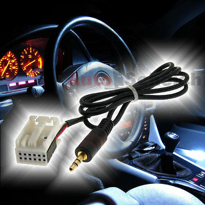 AUX IN Adapter Kabel für BMW E85 Z4 E83 X3 E53 X5 Business CD MP3 iPhone Handy