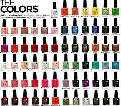 CND Shellac UV GelColor - Pick any color from the collection - Part 1