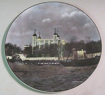 THE TOWER OF LONDON  PLATE BY ROYAL DOULTON T C 1030