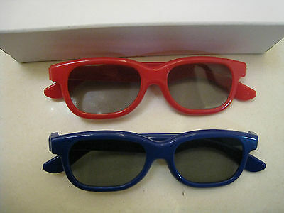 Two Pairs Kids New LG 3D Glass For LG Passive polarized 3D TV and Blu-ray DVD