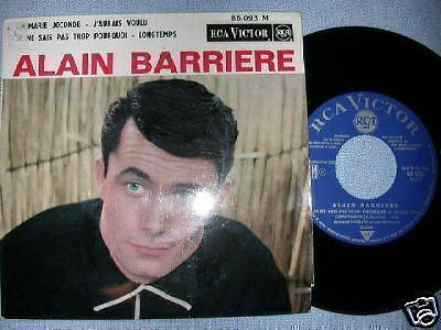 Ep Alain Barriere Rca Victor