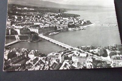 Old Postcard Of Geneve