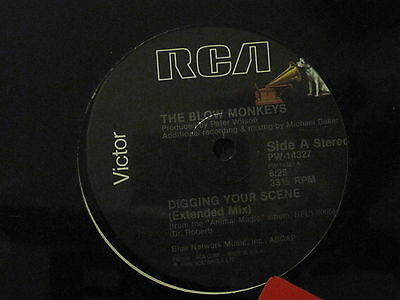 Blow Monkeys / Digging Your Scene / Promo Cut Sleeve