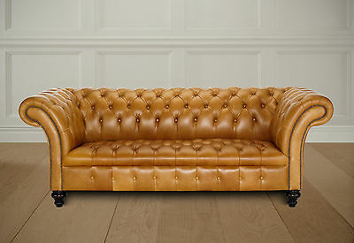 belmont chesterfield 3 str sofa  british made brand new direct from work shop