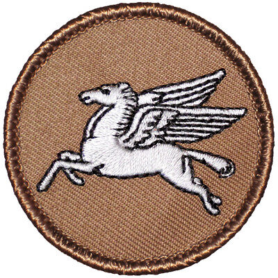 Cool Boy Scout Patches 24681 The Sword /& Pickaxe Patrol F70