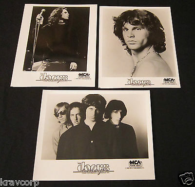 The Doors 'Dance On Fire' Three 1985 Publicity Photos