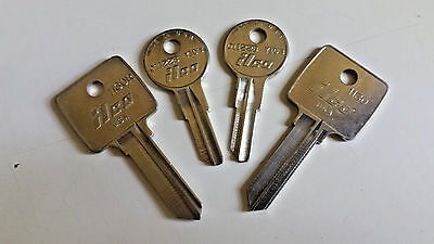ARCO-RIFKIN-Bank-Bag-NEW-Replacement-Keys-by Code Number-Locksmith Cut-Fast Ship