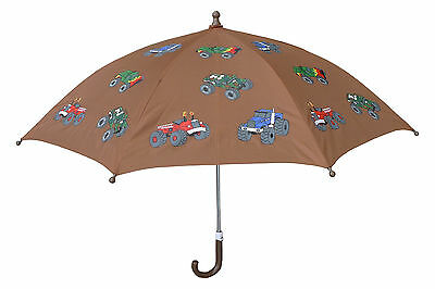 Boy/Girl Brown Monster Truck Umbrella by Foxfire
