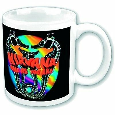 Nirvana Come As You Are Colourful White Coffee Mug Boxed Official Fan Gift Idea