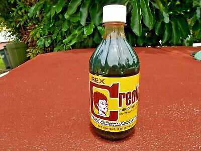 Cuban CREOLINA Coal Tar Deodorant Cleaner  Ordor Remover  16oz Animal  Quarters