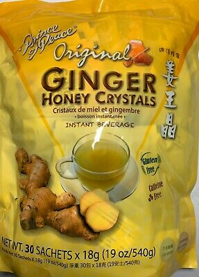 Prince of Peace - Ginger Honey Crystal - 30 Tea Bags