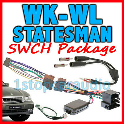 Holden Statesman Wk-Wl Steering Wheel Control Harness Iso Wiring Patch Lead ++++