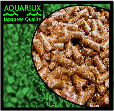 Aquariux cichlid pellets premium ornamental fish with added aminostim extra ext