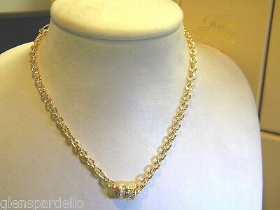 Kirks Folly Simply Stylish Magnetic Necklace gold  free ship W5186C1sg