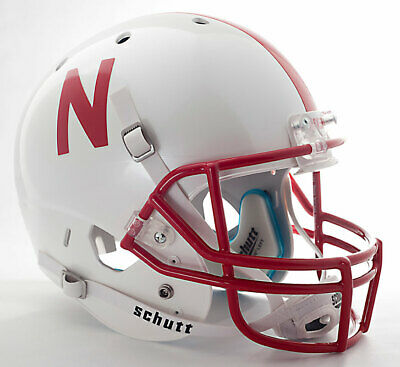 1995 NATIONAL CHAMPIONS NEBRASKA CORNHUSKERS Authentic GAMEDAY Football Helmet