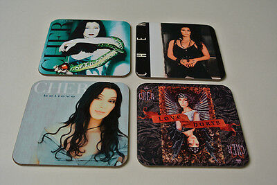 Cher Fantastic New COASTER Set