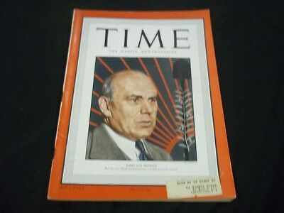 1949 JUNE 20 TIME MAGAZINE - JOHN JAY MCCLOY  - FRONT COVER - G196