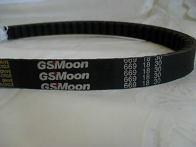 G S Moon ( Not Gates )Scooter And Moped Parts 18 30 669 Drive Belt,