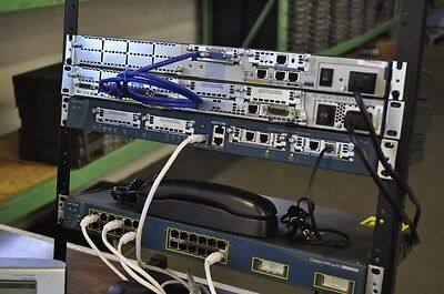 CISCO CCNA CCNP VOICE home lab kit 1-Year Warranty 1760 7912 Frame Relay