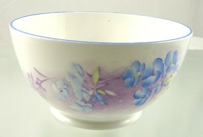 unknown ART DECO BLUE FLOWERS 506 BOWL BY SHELLEY ENGLAND