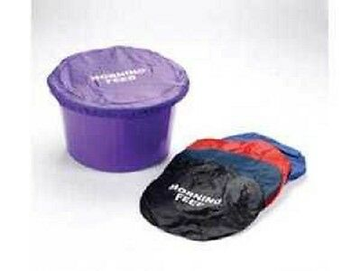 Lincoln Horse Pony  Feed Bucket Covers- Morning or Evening