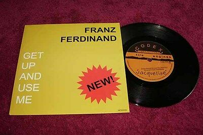 """Franz Ferdinand 7""""-Single Get Up And Use Me - The Fire Engines - Jacqueline"""