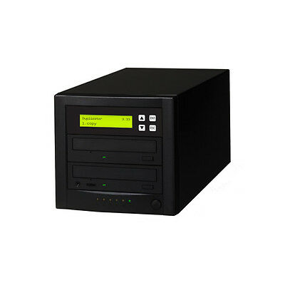 1 To 1 SATA CD DVD Duplicator Copier DUPLICATION BURNER M-Disc Duplicator