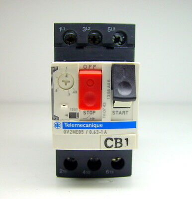 Schneider Electric Telemecanique GV2ME05 / 0.63-1A Motor Circuit Breaker
