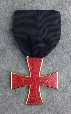 Masonic Knights Templar Order of the Red Cross Jewel (RCJ-1)