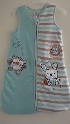 Baby Sleeping Bags Unisex 6-18 Months 2.5 Tog Brand New 100% Cotton